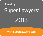 Rated By Super Lawyers - 2018